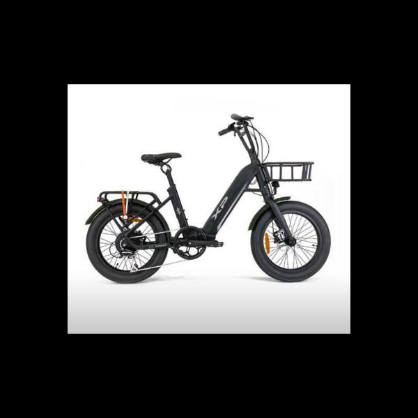 ebike bici elettrica xp i k kompact comfort total black 600x600 - XP KOMPACT 20